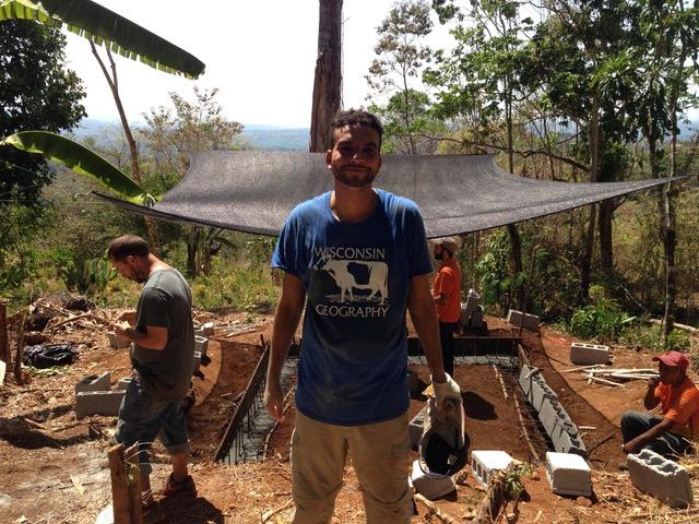 Jonathan Goodell in Caimital, Panamá