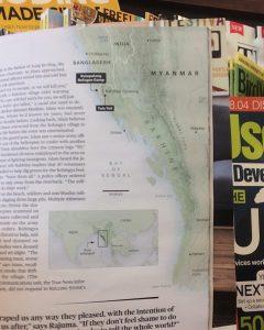 Meghan Kelly's map of Myanmar in Rolling Stone Magazine