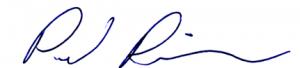 Paul Robbins Signature